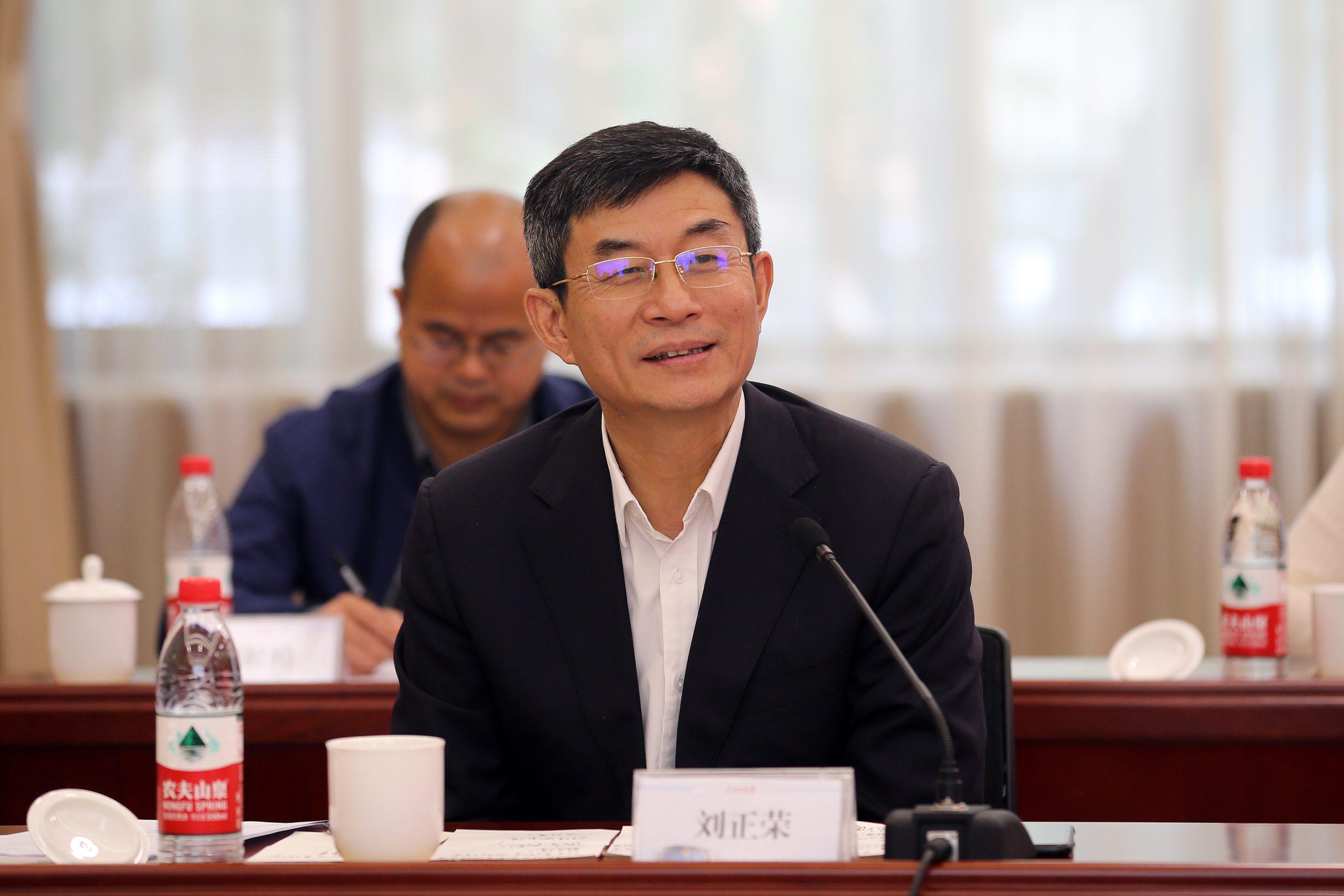 刘正荣书记 出席中国行业报协会交流座谈会并调研人民公安报社